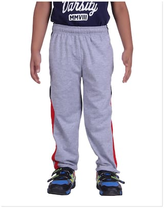 DFH Boy Cotton Track pants - Purple