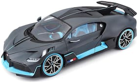 VBE Die-Cast Pull Back Bugatti Divo Light and Sound Metal Car With Openable Doors