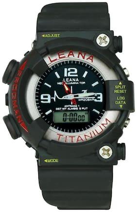 Digital and Analog watch with alaram And Light