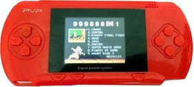 Digital PVP Play Station 3000 Games Light DVXI-5665 0.16 GB with All Digital Games  (Red)