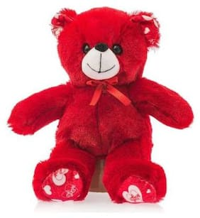 Emob Red Teddy Bear - 25 cm