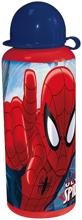 Disney Capsule Spiderman Bottle, Multi Color