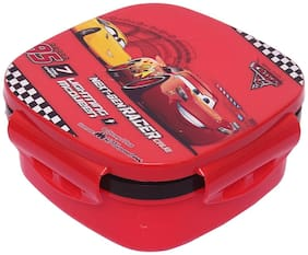 Disney Cars Plastic Lunch Box Set;3-pcs;Multicolour (HMRPLB 50363-CR)
