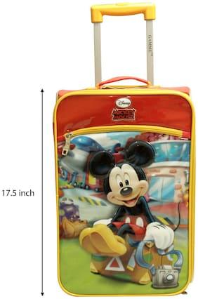 Disney Gamme Mickey Kids Soft Luggage Yellow- 44.45 cm (17.5 inch)