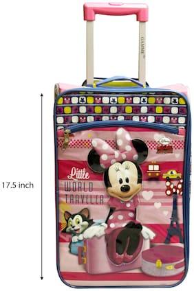 Disney Gamme Minnie Kids Soft Luggage Pink- 44.45 cm (17.5 inch)