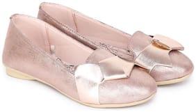 Disney Gold Ballerinas For Girls