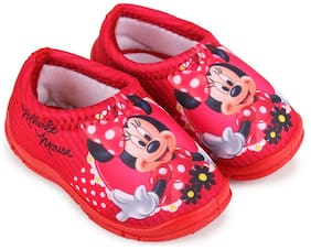 Disney Red Girls Casual Shoes
