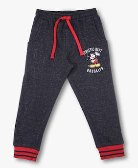 Disney Girl Cotton Trousers - Blue