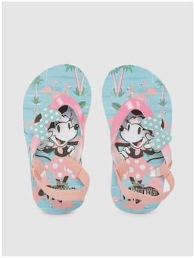 Disney Pink Girls Slippers