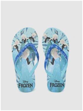 Disney Blue Girls Slippers
