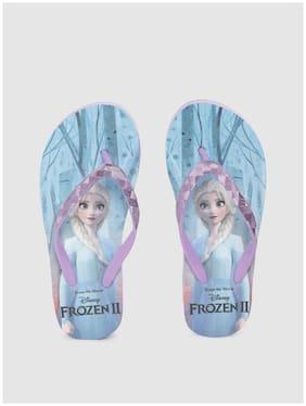 Disney Purple Girls Slippers