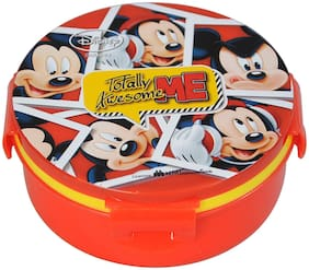 Disney & Marvel Mickey Mouse Plastic Insulated Hot Case Lunch Box Tiffin Box;500 Ml;Multicolour