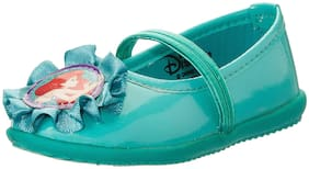Disney Princess Green Ballerinas For Girls