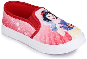 Disney Princess Red Girls Casual Shoes