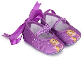 Disney Princess Purple Ballerinas For Infants
