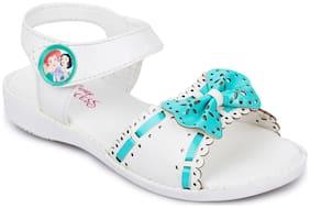 Disney Princess White Girls Sandals