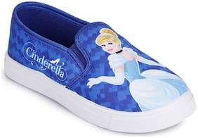 Disney Princess Blue Casual Shoes For Girls