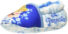 Disney Princess Blue Booties For Infants