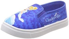 Disney Princess Blue Girls Casual Shoes
