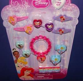 Disney Princess Hair, jewelry set , cinderella, Christmas great birthday gift