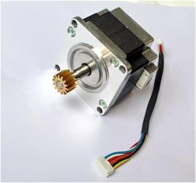 Divyanshi Nema 23 Stepper Motor Bipolar Hybrid for Cnc/DIY (4.28 kg-cm) (Multi)