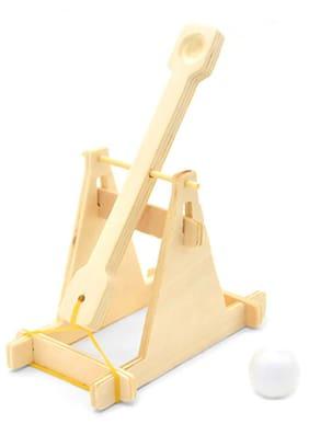 DIY Wooden Mangonel Intelligence Toy Set for Kids #SmileDay