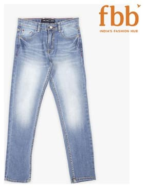 DJ&C Boy's Slim fit Jeans - Blue