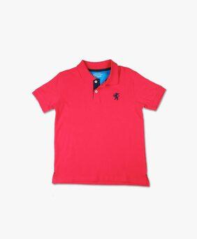 DJ&C Boy Cotton Solid T-shirt - Pink