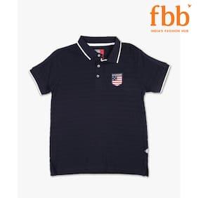 DJ&C Stripes Polo Boys T-Shirt