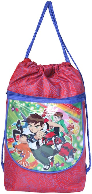 DJA Pithu Red School Bag Backpack