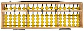 Djuize 17Rod Teacher Abacus Yellow Beads