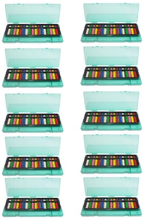 Djuize Abacus 17 Rod Multi color with box set of 10 pieces