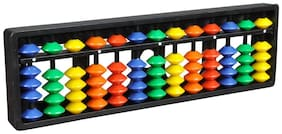 Djuize Abacus math learning kit for kids multi color 13 rod ( pack of 1 )