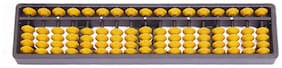 Djuize Abacus   17 rod Yellow color