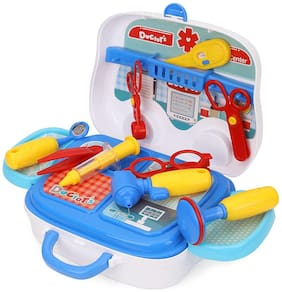 Doctor Nurse Set family oprated Medical Suitcase Plus Medical Van Toy