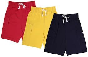 Dollar Champion Kidswear Boys Lounge Shorts Pack Of 3