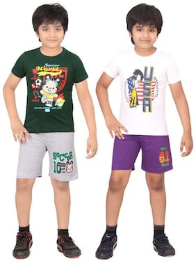 DONGLI BOYS NIGHT SUIT SET (PACK OF 2)