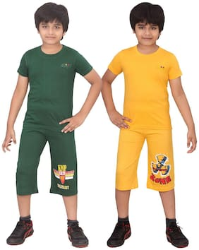 DONGLI BOYS CAPRI SET (PACK OF 2)
