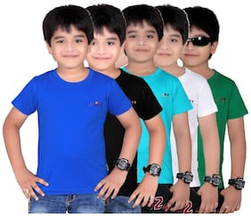 Dongli Boys Marvellous T Shirts-Pack Of 5 (10-11 Years)