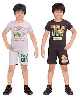DONGLI BOYS NIGHT SUIT SET ( PACK OF 2)