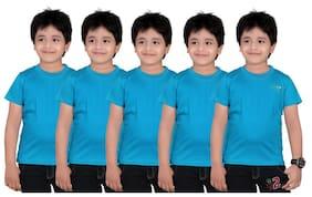 Dongli Sky Blue Plain Tshirt