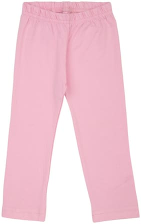 Donuts Baby girl Cotton blend Solid Leggings - Pink