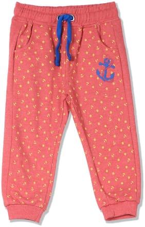 Donuts Baby boy Cotton Printed Pyjama - Red