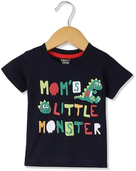 bc9566f5c Donuts Baby Boy Cotton Printed T Shirt Top - Blue