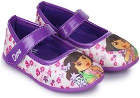 Dora Purple Ballerinas For Infants