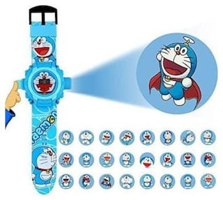 Doremon 24 Image Kids Projector Watch Pack Of - 1 By Signomark.