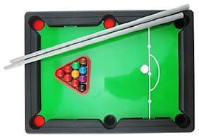 DP Endeavors Designer Studio Mini Pool Table Toy Snooker Table Game Toy for Adults Kids