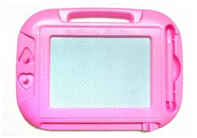 DP Endeavors Educational Writing and Drawing Magic Slate for Kids (Pink) Small