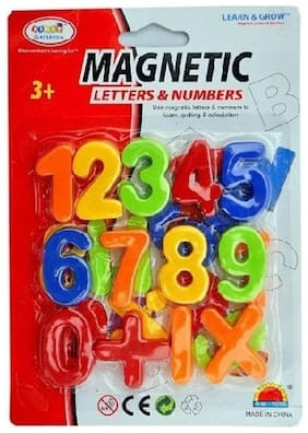 DP Endeavors Magnetic Learning Educational Magnet Set for Kids (Numbers)