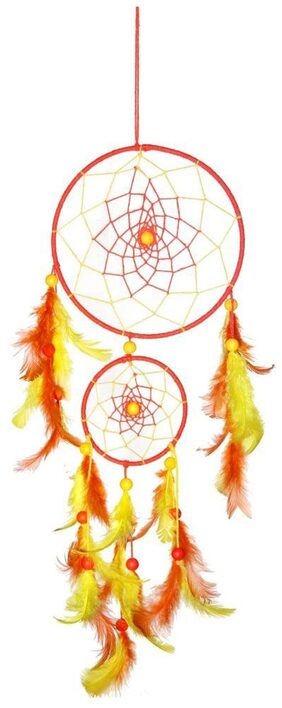Dream Catcher By Rooh Wellness- Yellow (Large)